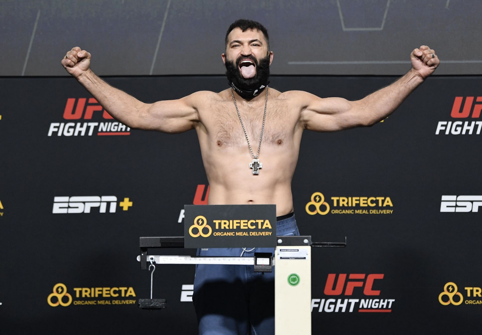 Andrei Arlovski has announced that he wants to keep on fighting until at least 45 - and potentially beyond