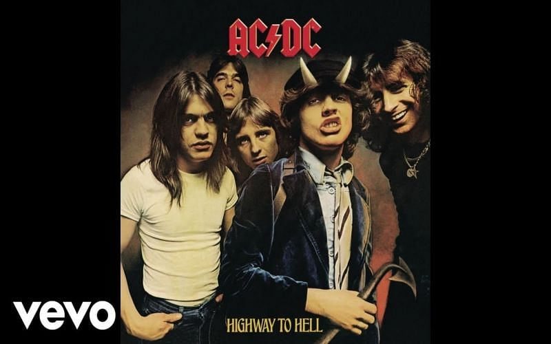 AC/DC's Highway to Hell spawned several hits, including the title track and Girl's Got Rythym (Image via AC/DC Vevo)