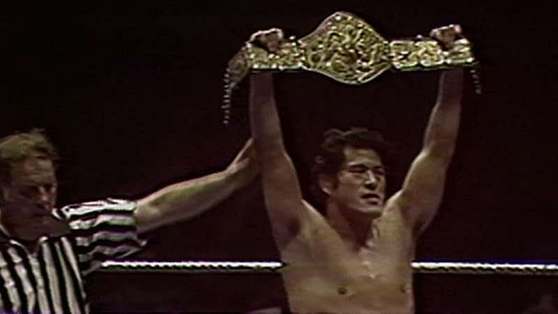 Antonio Inoki won the short-lived championship when he visited the United States
