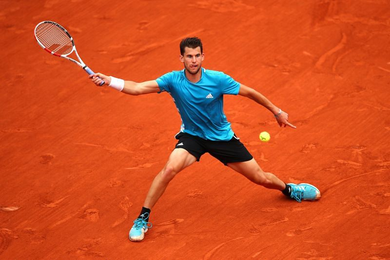 Dominic Thiem at the 2019 French Open