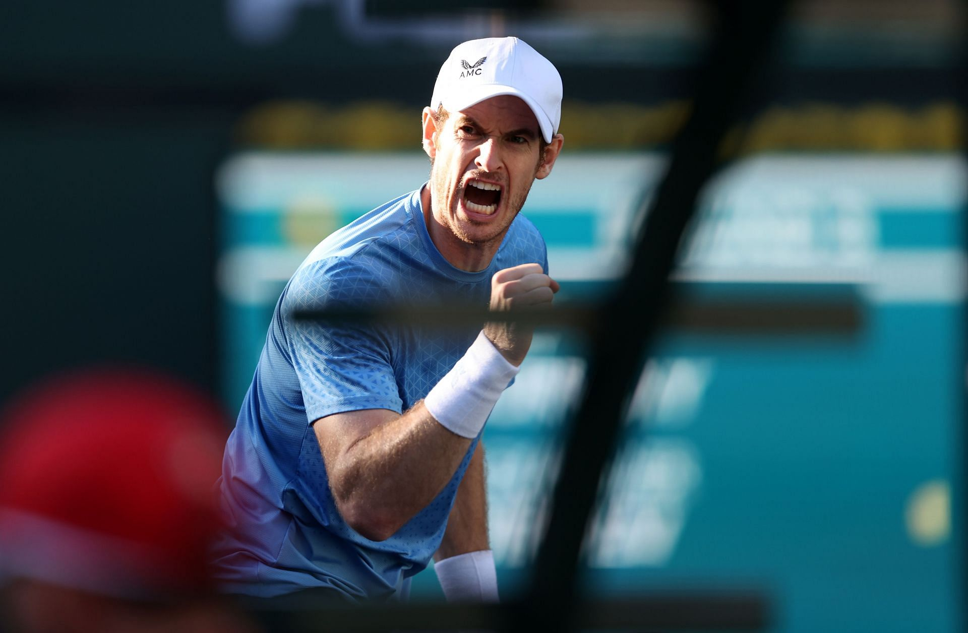 <a href='https://www.sportskeeda.com/player/andy-murray' target='_blank' rel='noopener noreferrer'>Andy Murray</a> at the BNP Paribas Open - Day 9