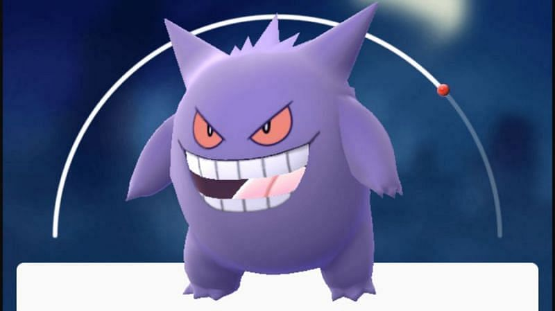 Gengar is a glass-cannon in Pokemon GO (Image via Niantic)