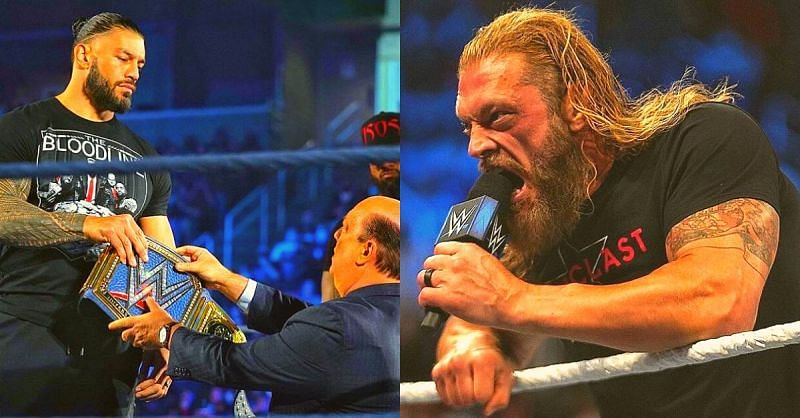 Edge made a huge statement tonight on SmackDown