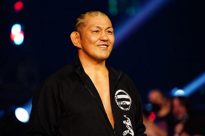 Minoru Suzuki will face Daniel Garcia in a huge singles match