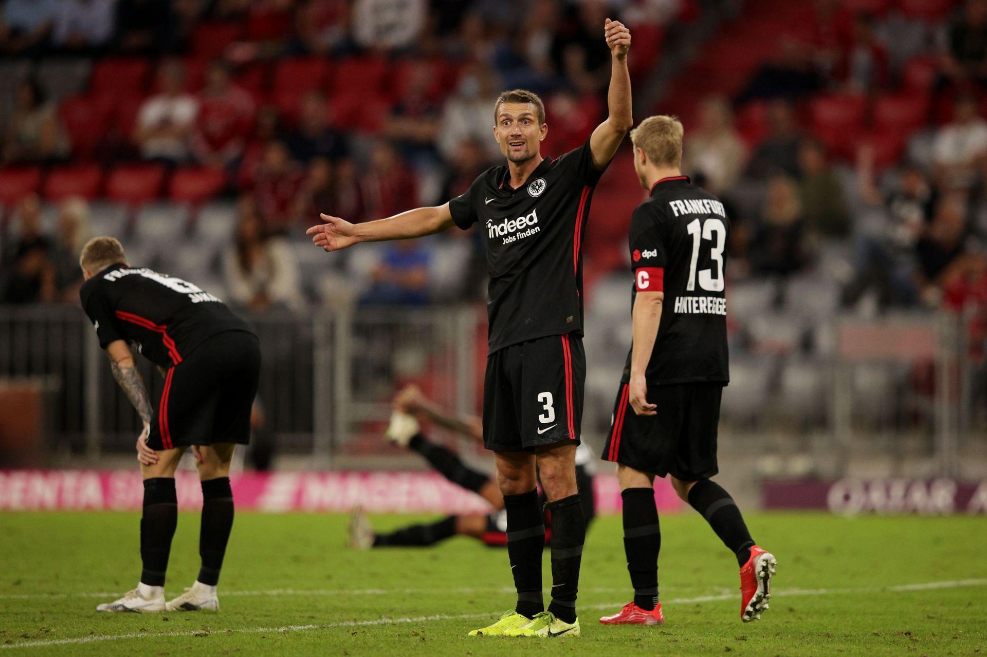Eintracht Frankfurt will host Hertha Berlin on Saturday - Bundesliga