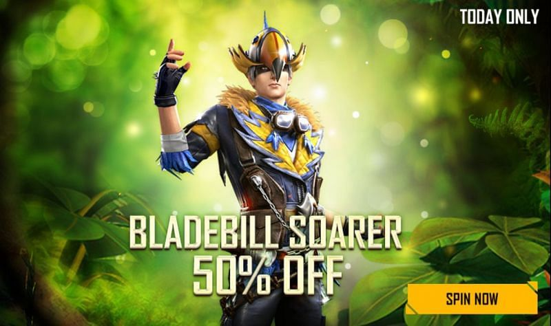 The 50% discount on the Diamond Royale is only for today (Image via Free Fire)