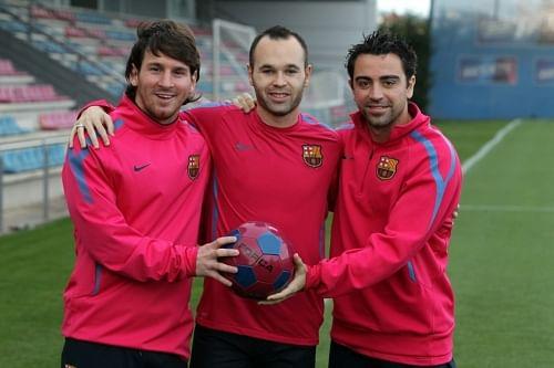 Messi Xavi Iniesta An Immaculate But Inseparable Trio