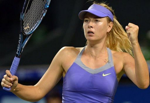Sharapova needed more than three hours to beat Watson