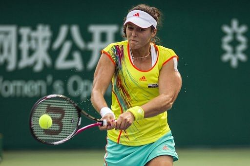British number one Laura Robson has risen from 131st place in the rankings at the end of last year to 60th currently