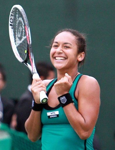 Heather Watson is expected to be in the top 50 by the end of the year