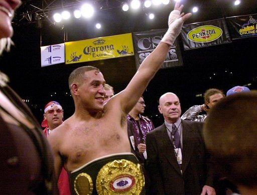 Camacho took on big names like Oscar De La Hoya, Julio Cesar Chavez and Sugar Ray Leonard