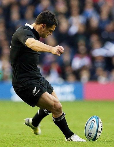 Dan Carter expects to be fit following Achilles and calf problems for this weekend