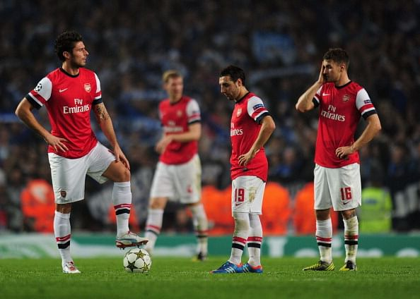 Arsenal FC v FC Schalke 04 - UEFA Champions League