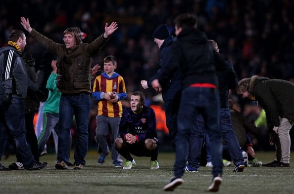 Bradford City v Arsenal - Capital One Cup Quarter Final