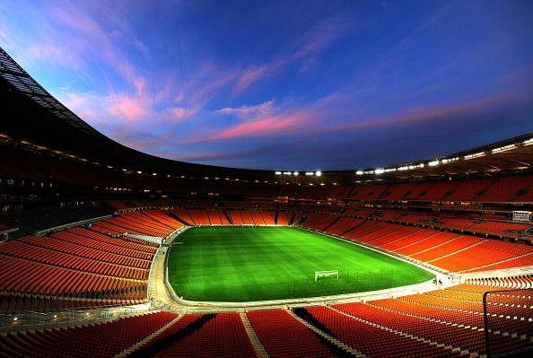 FIFA Inspection Tour: Soccer City Stadium Lights