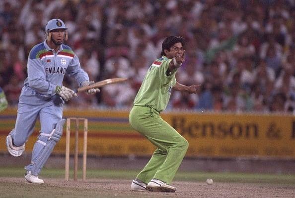 Akram swung the 1992 final in Pakistan