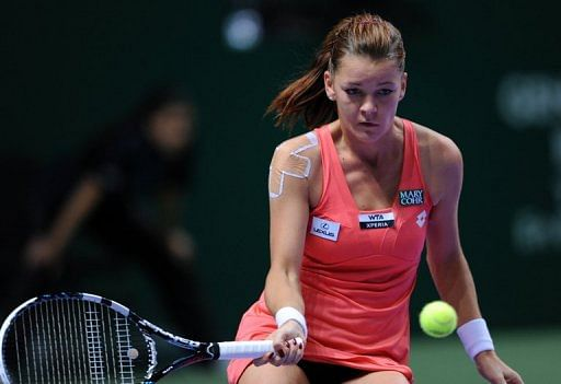 Agnieszka Radwanska, pictured on October 27, 2012, is the top seed at the ASB Classic tournament in Auckland