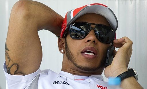 British Formula 1 driver Lewis Hamilton who has just joined Mercedes on November 22, 2012  in Sao Paulo, Brazil.