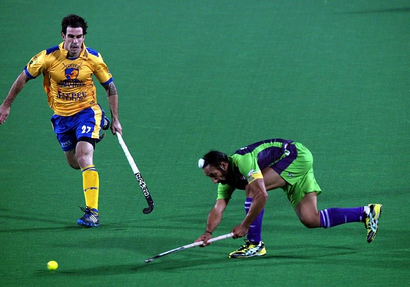 Sardara in action against the Punjab Warriors.