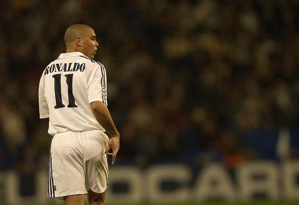 Ronaldo of Real Madrid stock