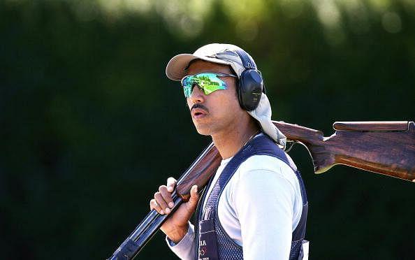 Indian shooter Rajyavardhan Singh Rathor