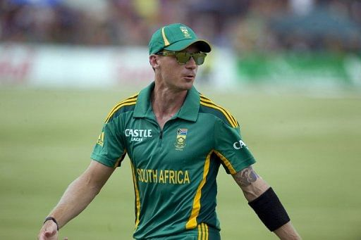 Dale Steyn, pictured on January 25, 2013, is the current #1 bowler on the International Cricket Council rankings