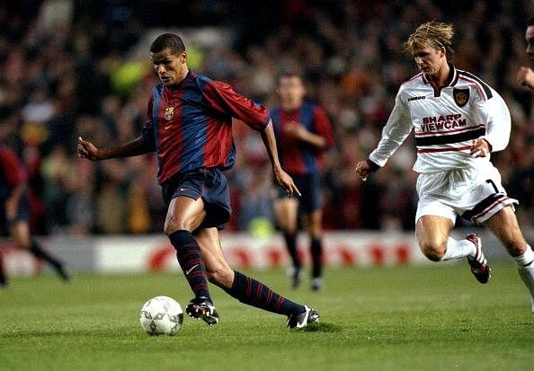 Rivaldo of Barcelona