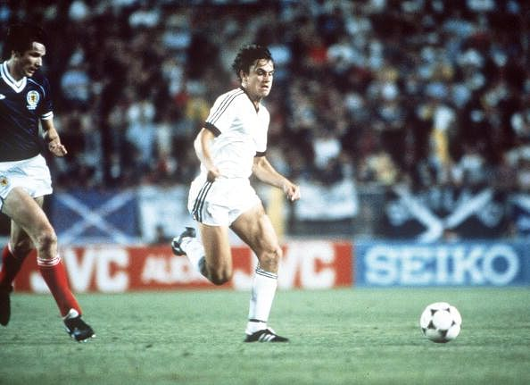 1982 World Cup Finals. Malaga, Spain. 15th June, 1982. Scotland 5 v New Zealand 2. New Zealand