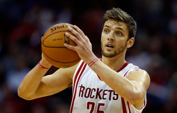 Chandler Parsons #25 of the Houston Rockets.