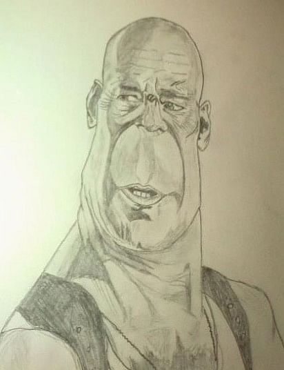 "Bruce Willis from the ""Die Hard"" series"