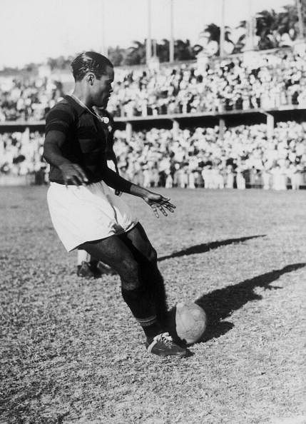The Brazilian Player Leonidas Around 1950
