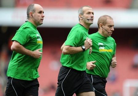Match Officials in England already use headsets to communicate during the match, including the 4th Official