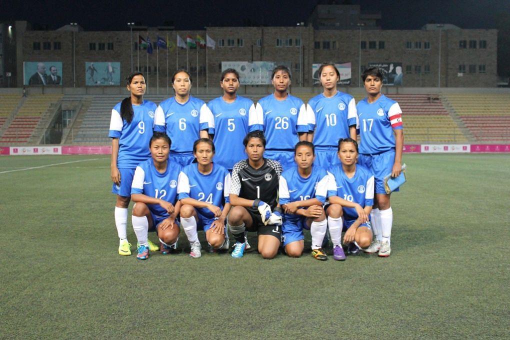 India Women - Myanmar