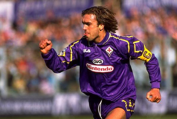 Gabriel Batistuto of Fiorentina