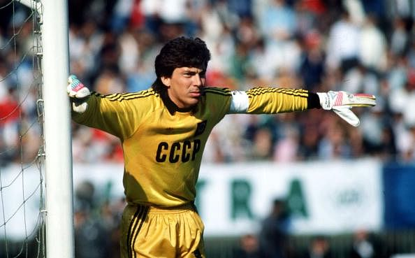 BT Sport, Football, pic: 1989, Rinat Dasaev, U,S,S,R, goalkeeper