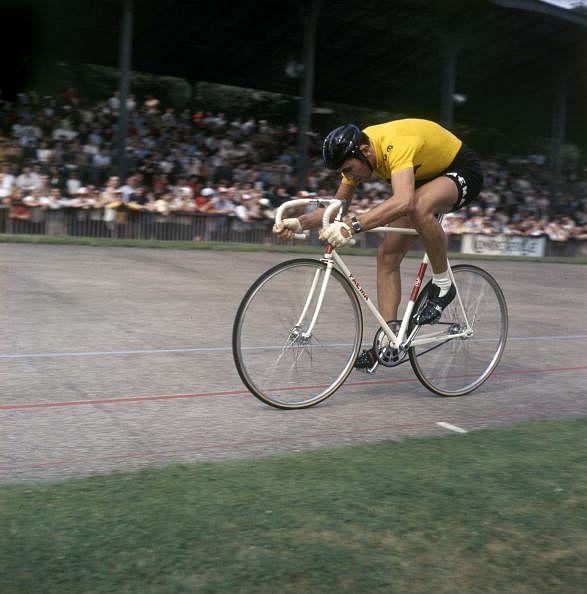 Eddy Merckx on the track, 1970