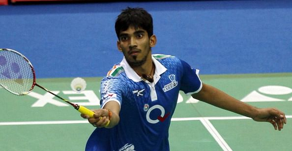 Awadhe Warriors player K Srikanth. (Getty Images)