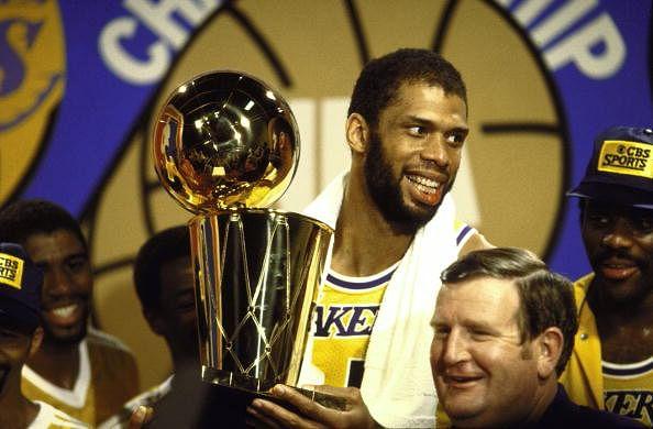 Los Angeles Lakers Kareem Abdul-Jabbar, 1982 NBA Finals