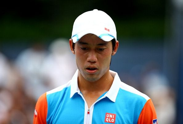 Kei Nishikori lost his first round match in the 2013 US Open