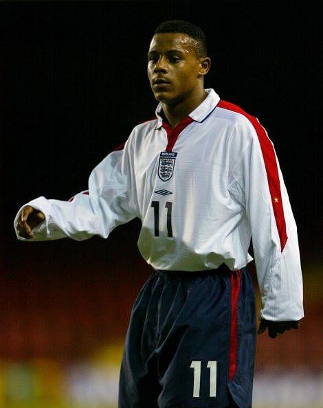 Levi Porter for England U-17