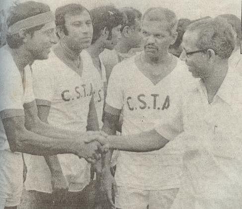 Tulsidas Balaram (second from right)