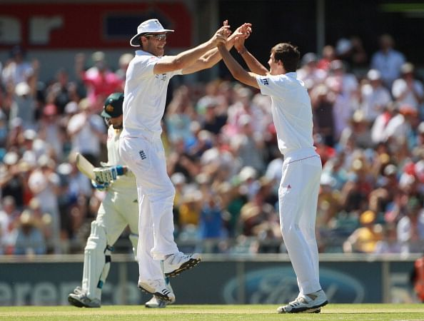 Third Test - Australia v England: Day Three