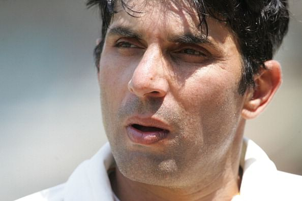 Misbah Ul Haq captain of the Faisalabad Wolves