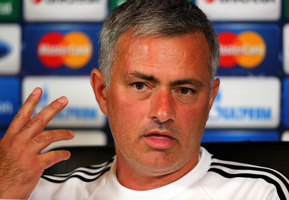 Under pressure Jose Mourinho who has never lost a league game at Stamford Bridge will see his charges take on Fulham