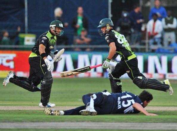 Warriors v Victorian Bushrangers - 2010 Champions League Twenty20