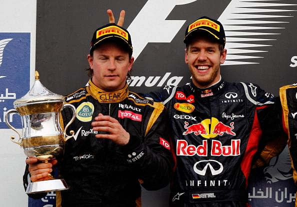Kimi and Sebastian may have a hard fight on the race track but they share a healthy friendship off it.