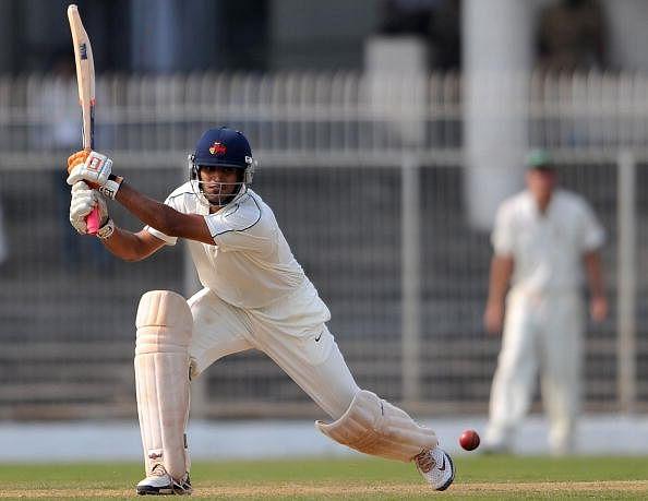 Board President XI cricketer Abhishek Na