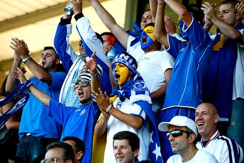 Bosnia Fans