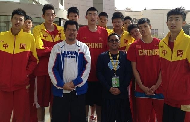 China Under-16 Basketball Team.