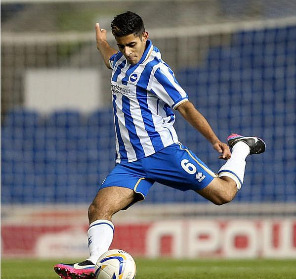Dylan Lall (Photo Credit: Brighton & Hove Albion FC)